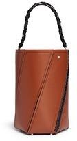 Proenza Schouler Hex' medum contrast stitch leather bucket bag