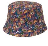 Pretty Green Paisley reversible astan bucket hat