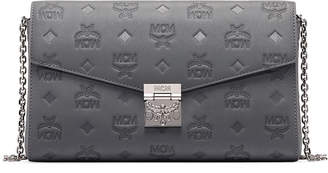 MCM Millie Small Monogrammed Leather Crossbody Bag