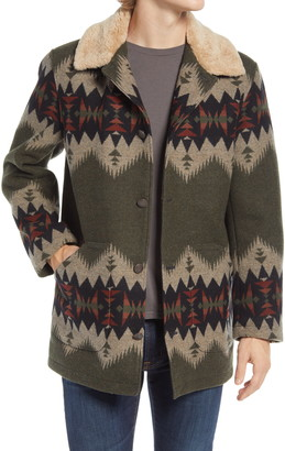 Pendleton Brownsville Wool & Cotton Coat
