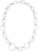 Gurhan Sterling Silver & 24K Yellow Gold Wheat Chain Necklace