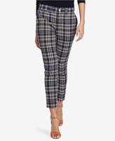 Polo Ralph Lauren Madras Cotton Straight Pants