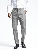 Banana Republic Standard Gray Cotton Non-Iron Pant