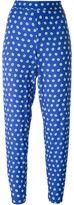 P.A.R.O.S.H. geometric print trousers