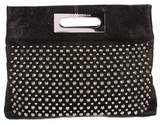 Thomas Wylde Leather and Studded Clutch