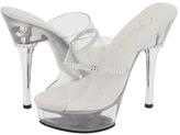 Pleaser USA Allure-601R (Clear/Clear) - Footwear