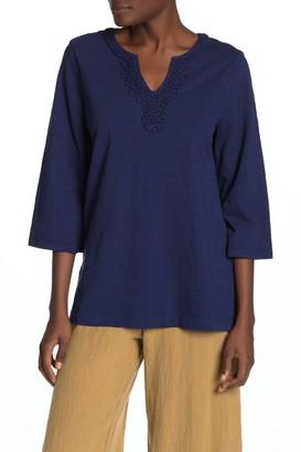 Tommy Bahama Bell Sleeve Jersey Tunic