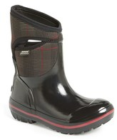 Bogs Women's 'Plimsoll - Prince Of Wales' Waterproof Boot
