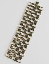 Large Gold Mesh Bracelet