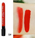 Remeehi 38 Colors Waterproof Long Lasting Velvet Matte Lip Gloss Cosmetic Lipstick 9#