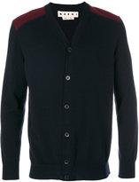 Marni shoulder panel buttoned cardigan