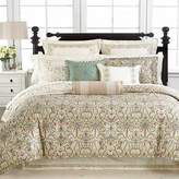 Martha Stewart Collection Trousseau ORNATE PAISLEY King Bedskirt, Ivory