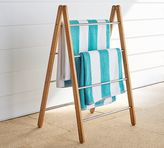 Pottery Barn Outdoor Shower Collapsible Towel Rack