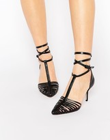 Asos SKYLINE Caged Pointed Heels