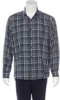 Michael Kors Plaid Long Sleeve Shirt
