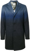Etro degradé single breasted coat - men - Polyester/Cupro/Viscose/Polyimide - 46