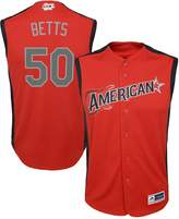 Majestic Youth Mookie Betts Red American League 2019 MLB All-Star Game Player Jersey