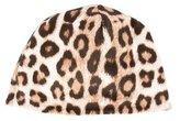 Roberto Cavalli Girls' Leopard Print Beanie