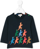 Paul Smith dinosaurs print top - kids - Cotton - 12 mth