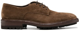 Henderson Baracco Lace-Up Suede Oxford Shoes