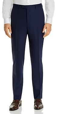 John Varvatos Street Micro-Check Slim Fit Suit Pants