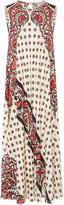 RED Valentino Bandana Silk Print Dress