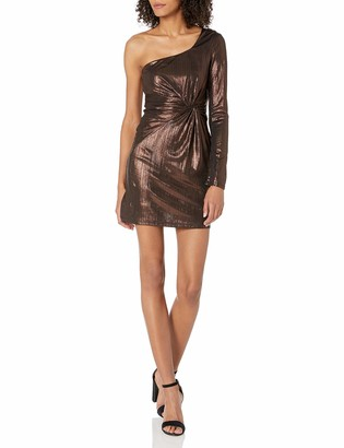 ASTR the Label Women's Silvia One Shoulder Party Dress