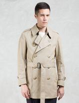 VALLIS BY FACTOTUM Drop Shoulder Trench Coat