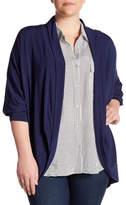 Tart Bolero Dolman Sleeve Cardigan (Plus Size)