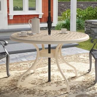 Ophelia Fason Metal Dining Table & Co.