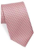 Salvatore Ferragamo Silk Flamingos Tie
