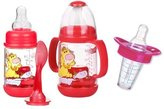 Nuby Infant Printed Bottle Feeder with Munchkin Medicator - Pink