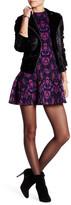 Free People Halter Sleeveless Print Mini Dress