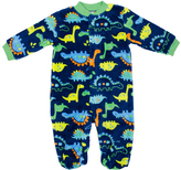 Cutie Pie Baby Blue Dinosaurs Footie - Infant