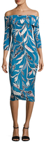 Yumi Kim C'est La Vie Off Shoulder Sheath Dress
