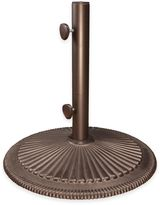 SimplyShade® Coral Cast Iron Umbrella Base in Bronze