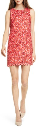Alice + Olivia Clyde Sleeveless A-Line Minidress