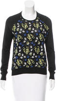 Erdem Embroidered Lace Top