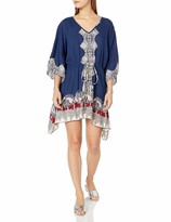 Thumbnail for your product : Angie Women's Juniors Printed Kaftan Dress