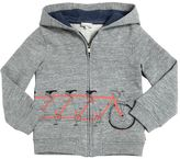 Paul Smith Bicycle Print Hooded Cotton Sweatshirt