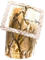 Alessandro Dell'Acqua PVC Waist Belt
