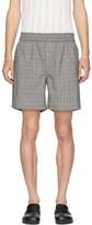 Linder Grey Plaid Bennett Shorts