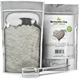 Honeydew 100% Pure Bentonite Clay Powder (1lb) with Scooper for Facial Masks, Acne & Hair - Resealable Pouch - Mix with Essential Oils for Anti Aging Properties - USA Made By Products