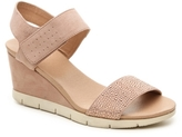 Yellow Box Bethel Wedge Sandal