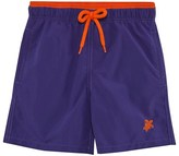 Vilebrequin Blue and Orange Bi-Colour Trunks