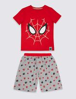 Marks and Spencer Spider-ManTM Short Pyjamas (2-10 Years)