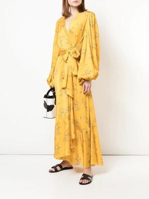 Johanna Ortiz Exotic Pitaya Dress Yellow