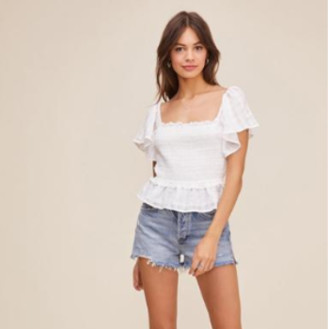 ASTR the Label The January Top In White - XS