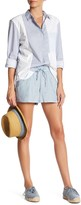 French Connection Chambray Drawstring Short