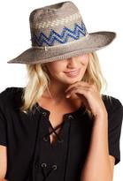 Helen Kaminski Tama Geometric Crochet Raffia Hat